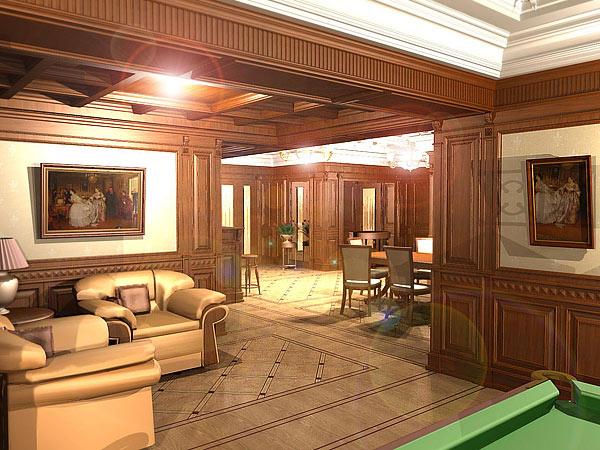 Кессонные потолки дизайн
