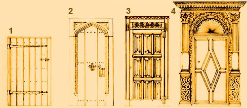 Дверь без гвоздей