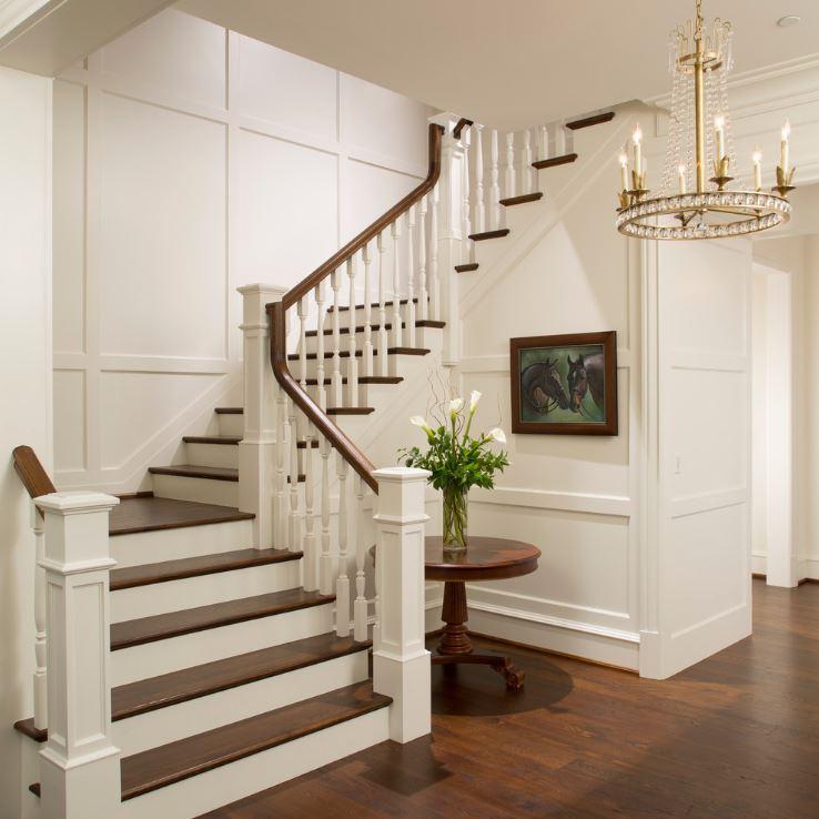 Дизайн деревянных лестниц в доме