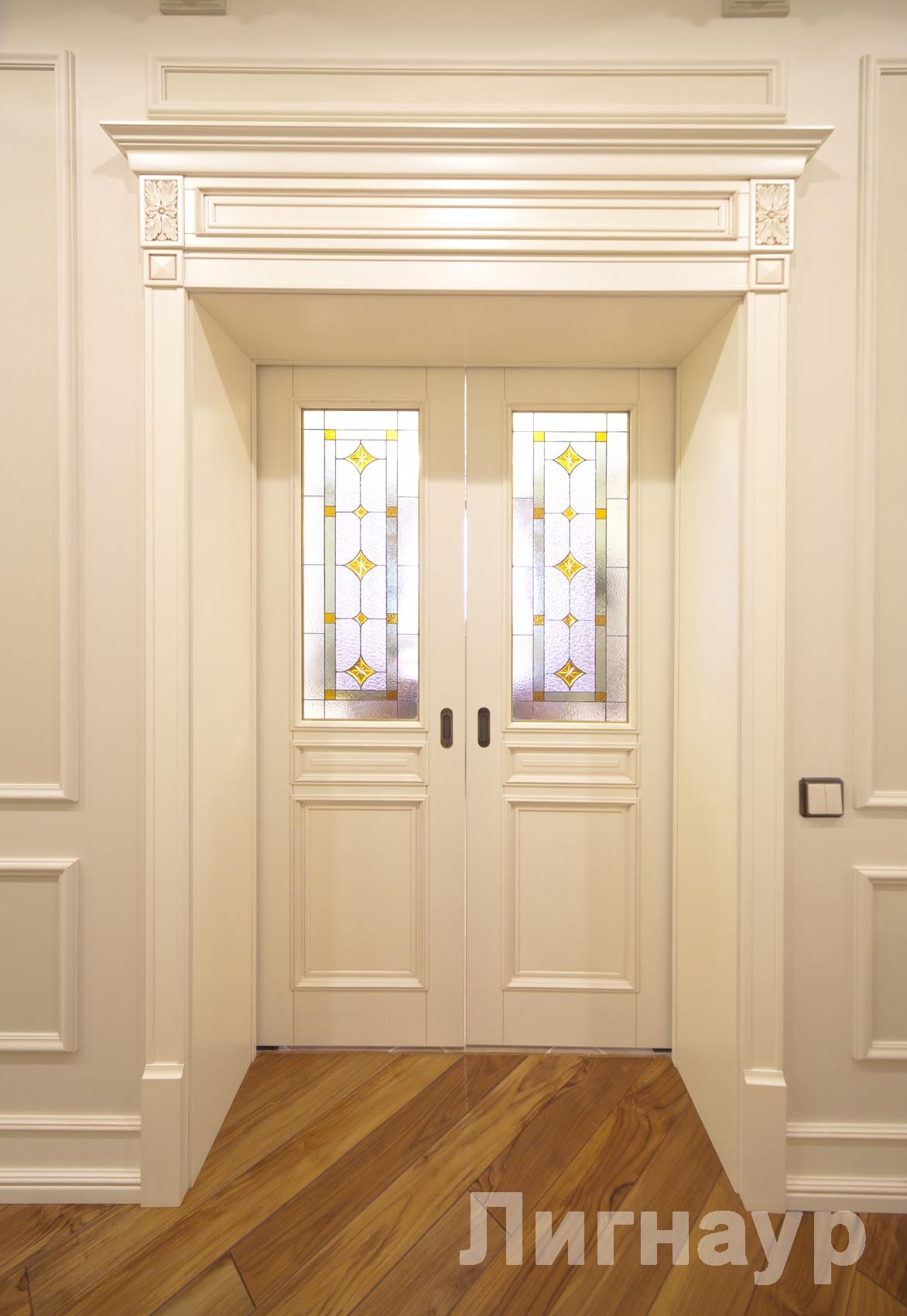 Варианты оформления дверного проема 40