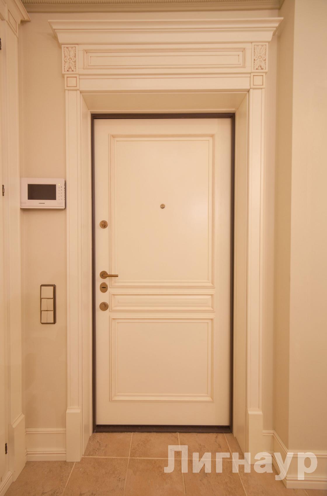 Варианты оформления дверного проема 12